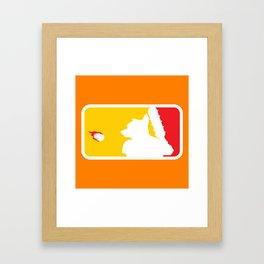 Major League Whack-Bat Framed Art Print