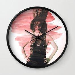 Young girl 2 Wall Clock