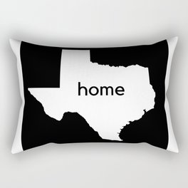 Texas Home State Map Gifts Rectangular Pillow
