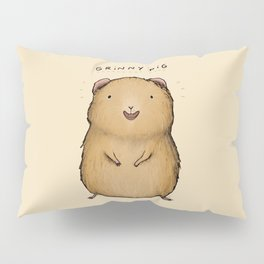 Grinny Pig Pillow Sham