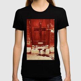 Bloody Cross Door T-shirt