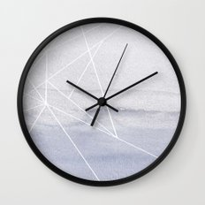 Water and Color 5 Wall Clock