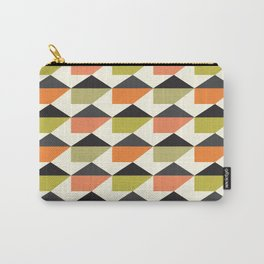 Geometric Pattern 104 (orange pink green Carry-All Pouch
