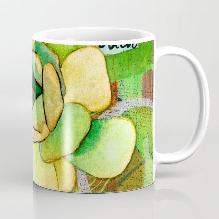 Pietra Rosetta Succulent Garden Coffee Mug