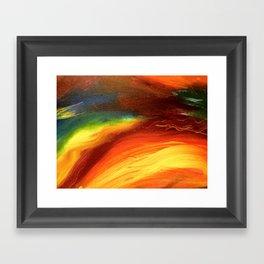 Scorch Framed Art Print