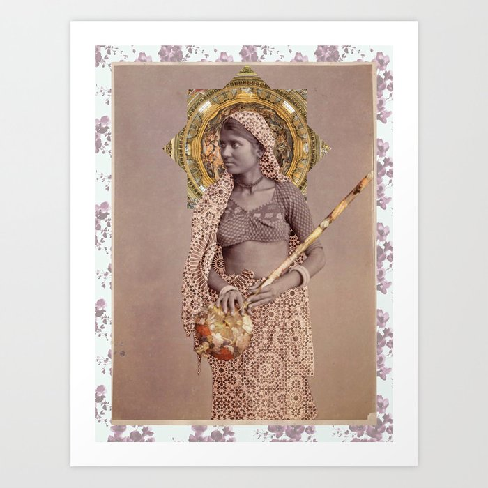 Woman from Bengal Art Print