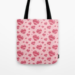 50's Rock a Billy Hearts - by Jezli Pacheco Tote Bag