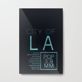 The City of Angels Metal Print