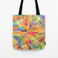star Tote Bags featuring Star by Danny Ivan