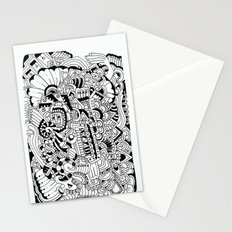 What hides a caress Stationery Cards