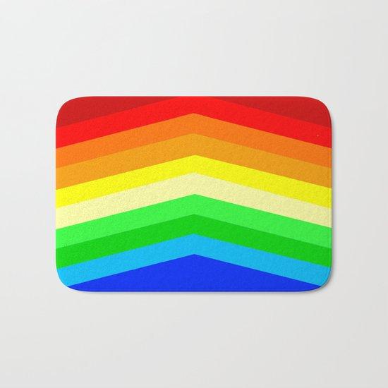 Shades of a Rainbow Bath Mat