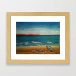 Beach Daze Framed Art Print