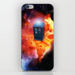 Space Tardis iPhone Skin