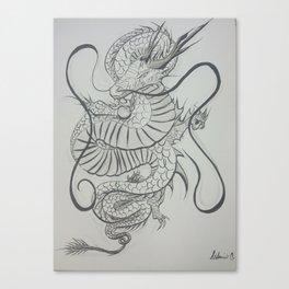 Dragon Mist Canvas Print