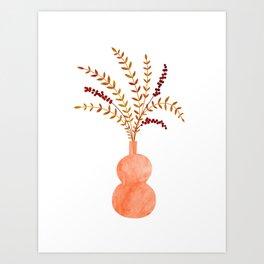 Sprigs and Berries Art Print