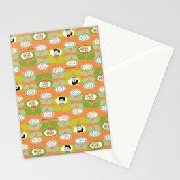 mabo & jimmy garden orange 2 Stationery Cards