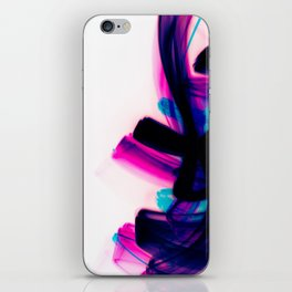 Minimal Futuristic Abstract Calligraphy iPhone Skin