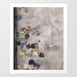 Charlottesville / Muted Leaves Art Print