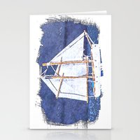 sailboat Stationery Cards featuring Sailboat by Michael P. Moriarty