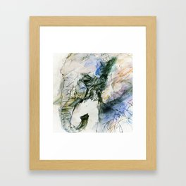 Elephant Queen Framed Art Print