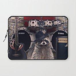 raccoon rock Laptop Sleeve