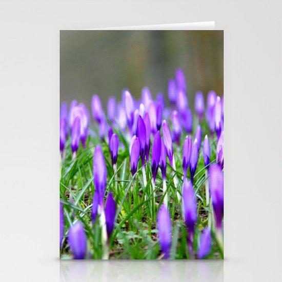 Crocus Blossom  Stationery Cards