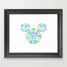 Pop Crystal Framed Art Print