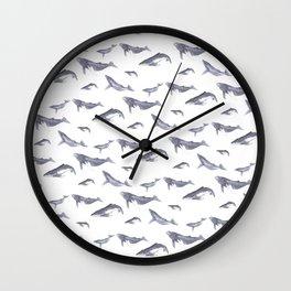 Lil Humpbacks Wall Clock
