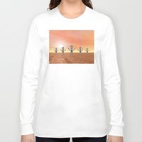 zombies Long Sleeve T-shirts featuring Zombies by Phil Perkins