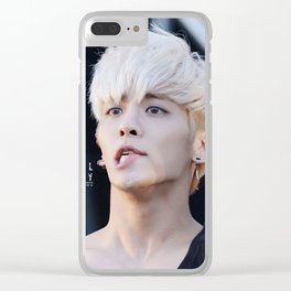 kim jonghyung shinee Clear iPhone Case