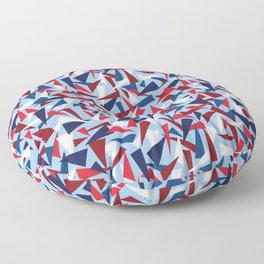 Breaking the Glass Ceiling! 2020 Red, White, & Blue Floor Pillow