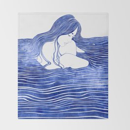 Nereid XXI Throw Blanket