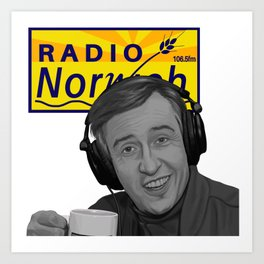 """Radio Norwich"" Art Print"