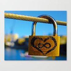 Love Locks 2012 48 Canvas Print