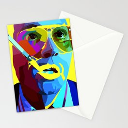 Fear And Loathing In Las Vegas Painting | Johnny Depp Stationery Cards