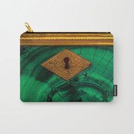 Malachite Box 4 Carry-All Pouch