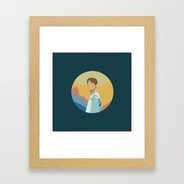 JIN - BTS Framed Art Print