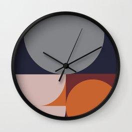 Shades of Autumn #Pantone #color #decor Wall Clock