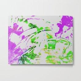 Abstraktes Erlebnis Nr. 10 Metal Print