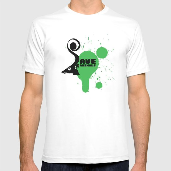 SAVE ANIMALS T-shirt