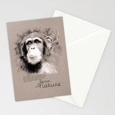 Chimpanzee (BornInNature) Stationery Cards