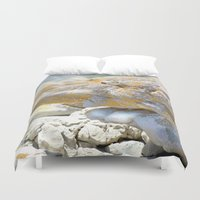 rocky Duvet Covers featuring Rocky Tocky by CrismanArt