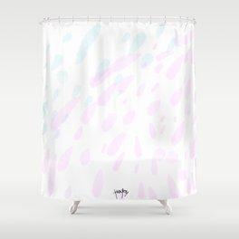 Faint Spritz Shower Curtain