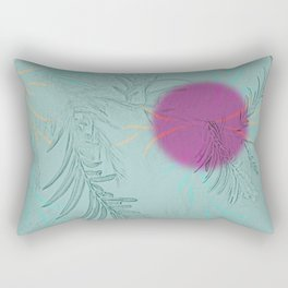 purple sun Rectangular Pillow
