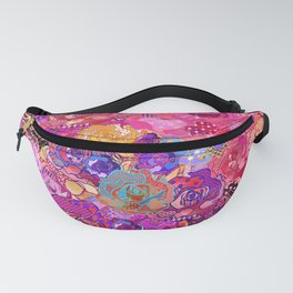 Wallflower in Sunset Fanny Pack