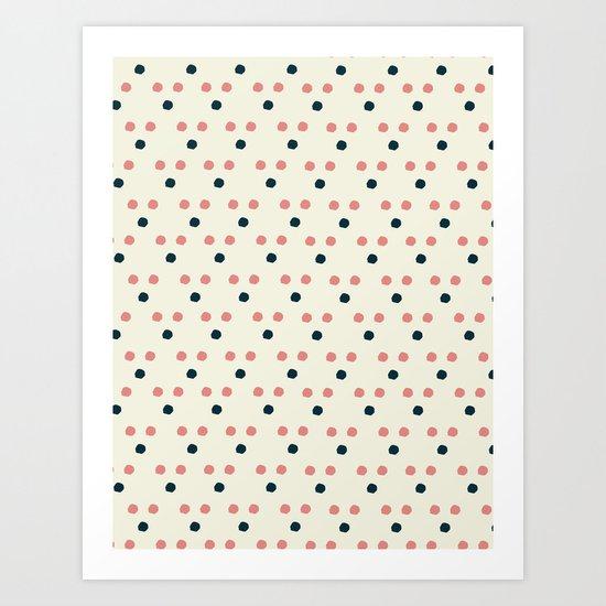 Triangle Dot Art Print