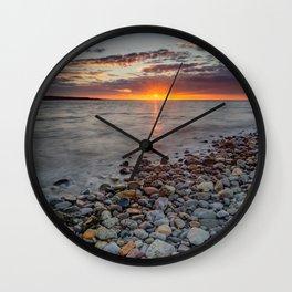 Welsh Sunset Wall Clock
