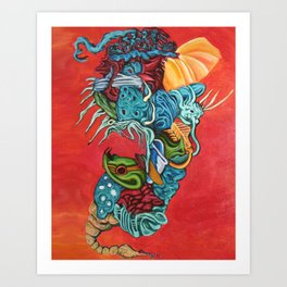 Insectuous Art Print