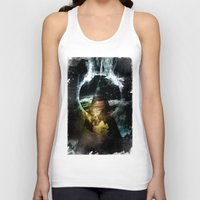 child Tank Tops featuring Thunder child by HappyMelvin
