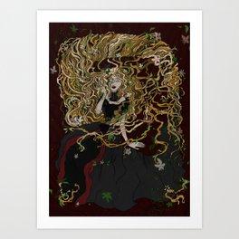 Garlick Art Print